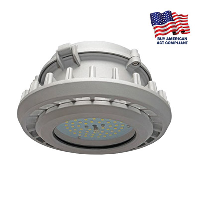 ECLIPSE SERIES: BUY AMERICAN LOW BAY FIXTURE, CLASS 1, DIV 2 RATED, IP66