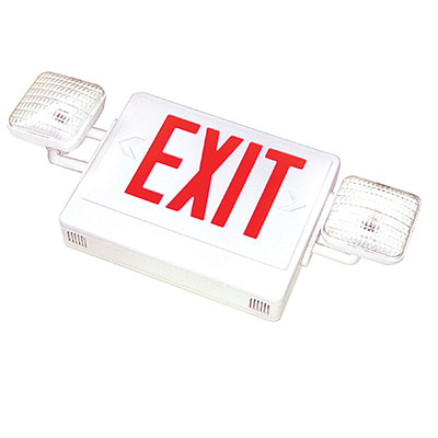 FLEDCXTEU  LED COMBO EXIT EMERGENCY