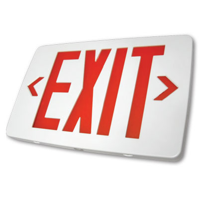 TTES Thin Thermoplastic Exit Sign