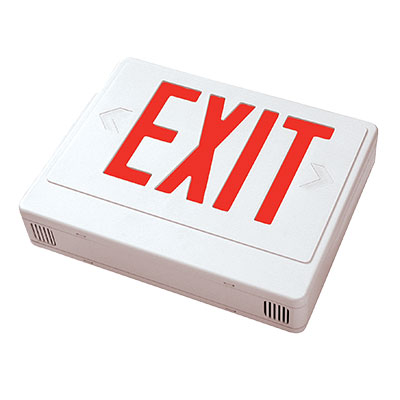 RCTES REMOTE CAPABLE THERMOPLASTIC EXIT SIGN