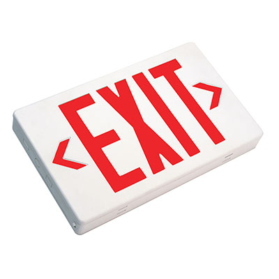TES Thermoplastic Exit Sign