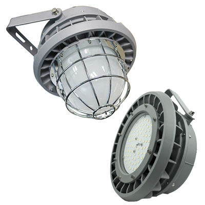 Moon Series UL 844, Class 1 Division 2 LED, 20-180 W, up to 25,2k lumens, VARIABLE OPTICS, STOCK AVAILABLE
